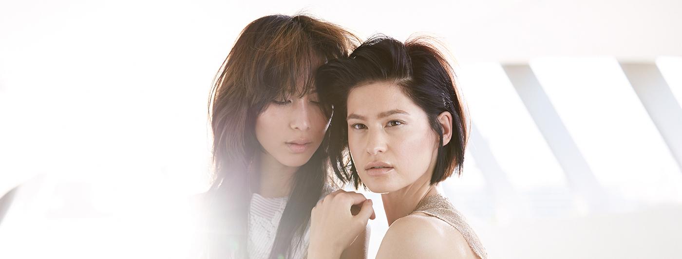 modelle per capelli orientali