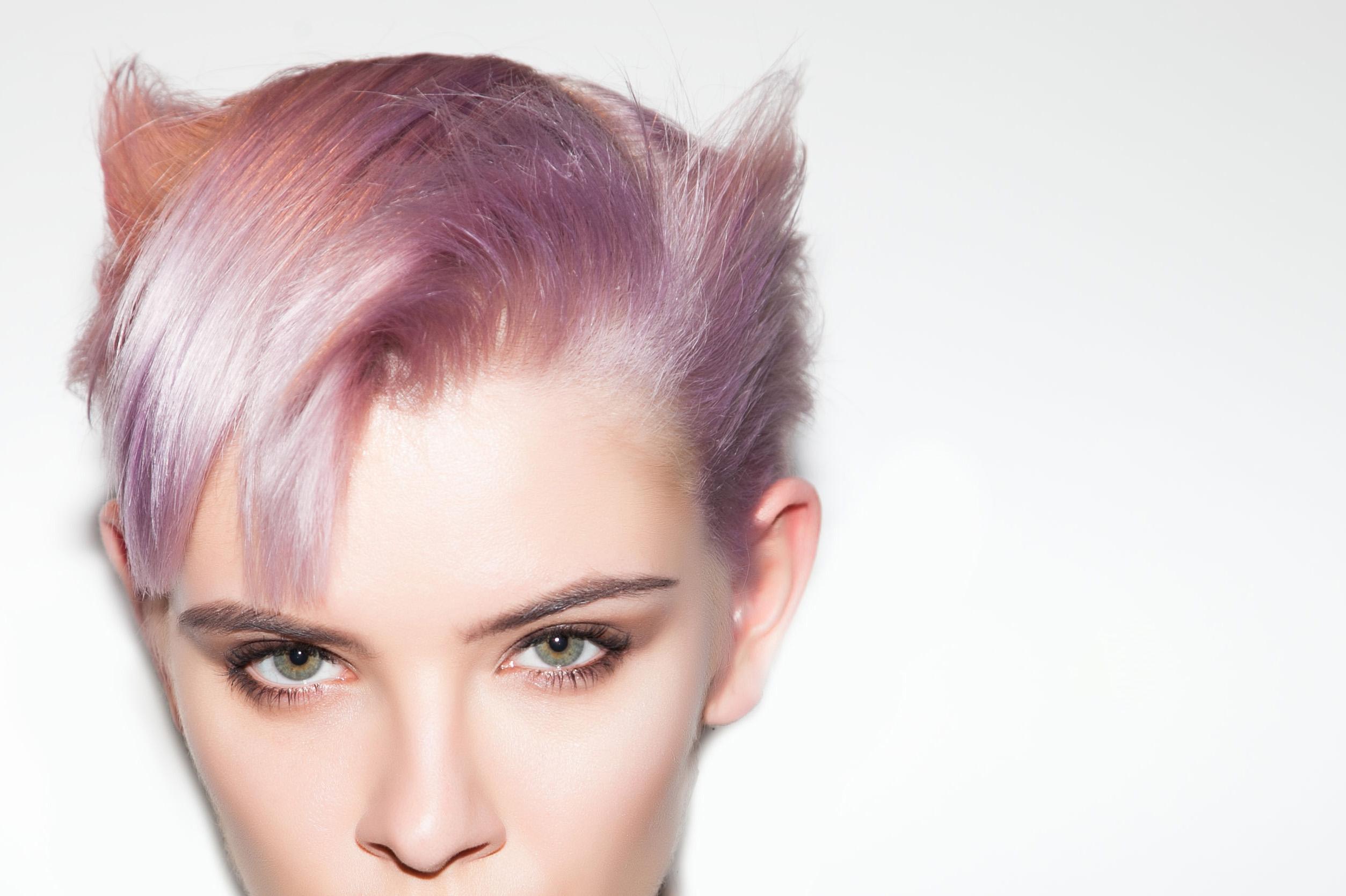 modelle per capelli rosa