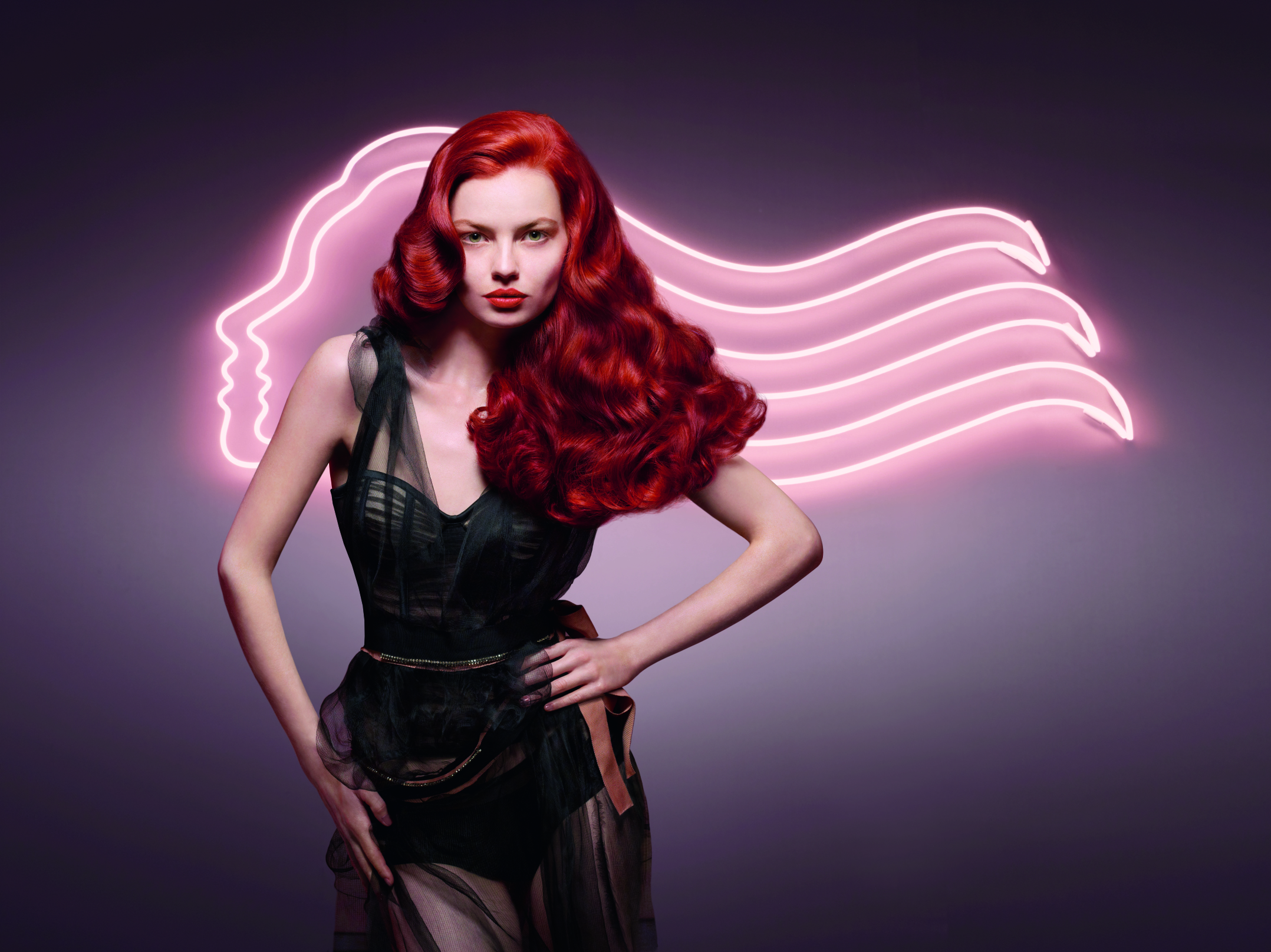 modelle per capelli rossi