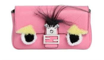 le borse donna monster fendi rosa