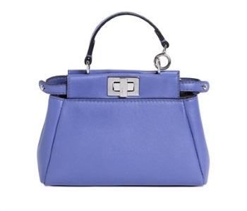 le borse donna peekaboo blu