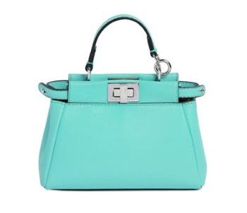 le borse donna peekaboo verde acqua