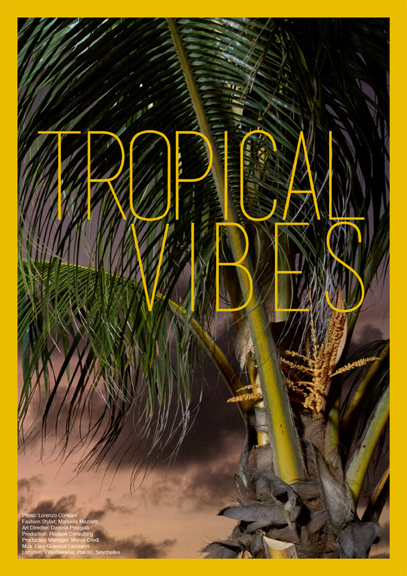 tropical vibes fashion stylist Manuela Mezzetti