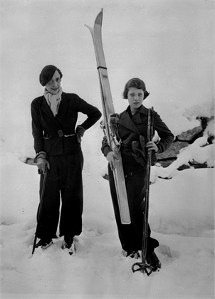 Elsa Schiaparelli, St Moritz, 1934