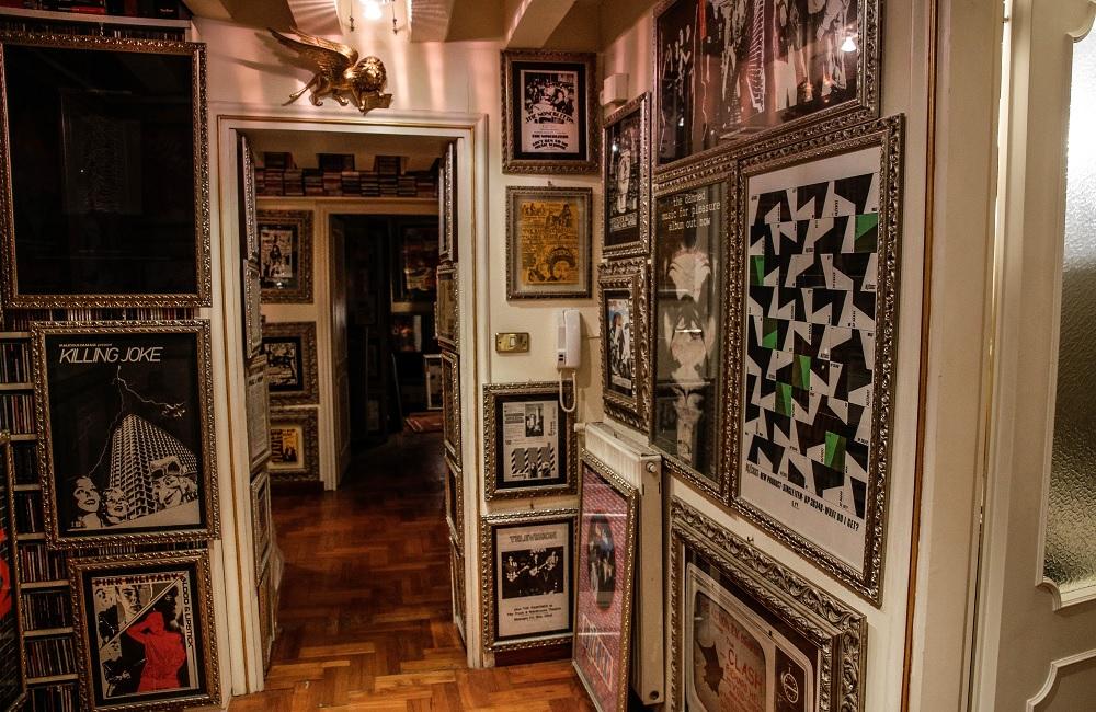 Ingresso del museo sul Punk di Venezia