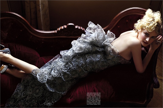 Photo by Mark Seliger 2009 Vogue Unique, marzo 2009