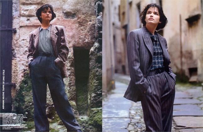 Photo by Renato Grignaschi 1984 Vogue Italia, luglio 1984