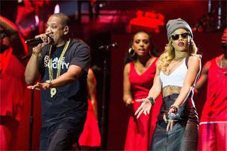 Rihanna, Jay-Z