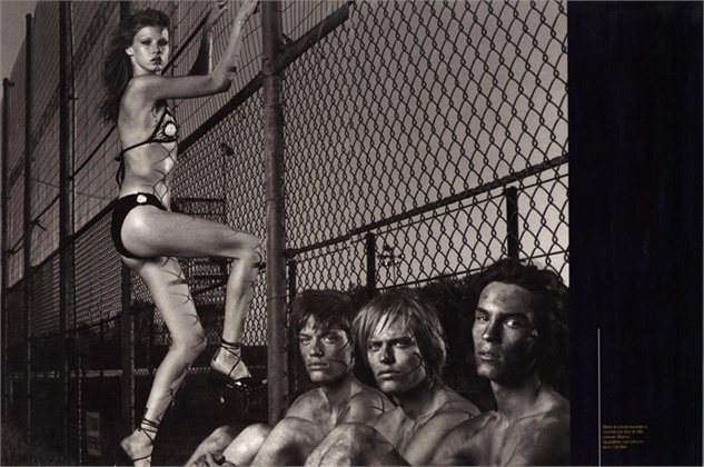 Vogue Italia, giugno 1997 Bikini, Marina Spadafora Photo by Steven Meisel