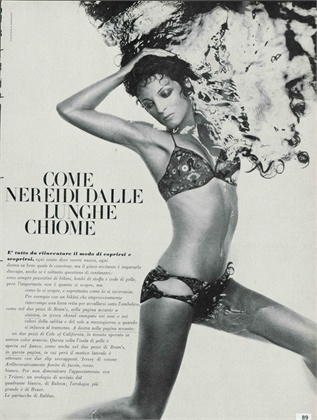 Vogue Italia maggio 1968 Bikini, Bram's Photo by Giampaolo Barbieri