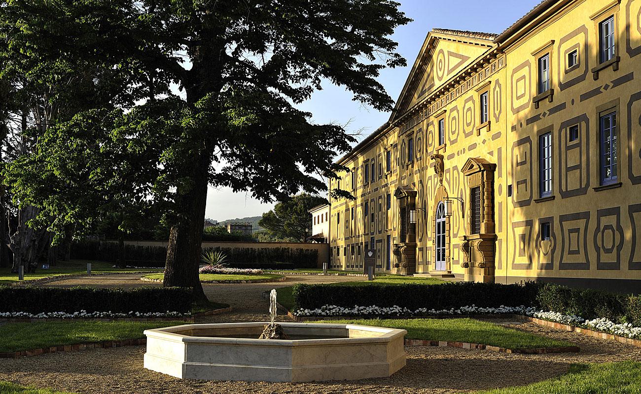 Villa Le Maschere facciata