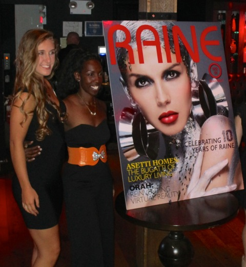 Evento Raine Magazine
