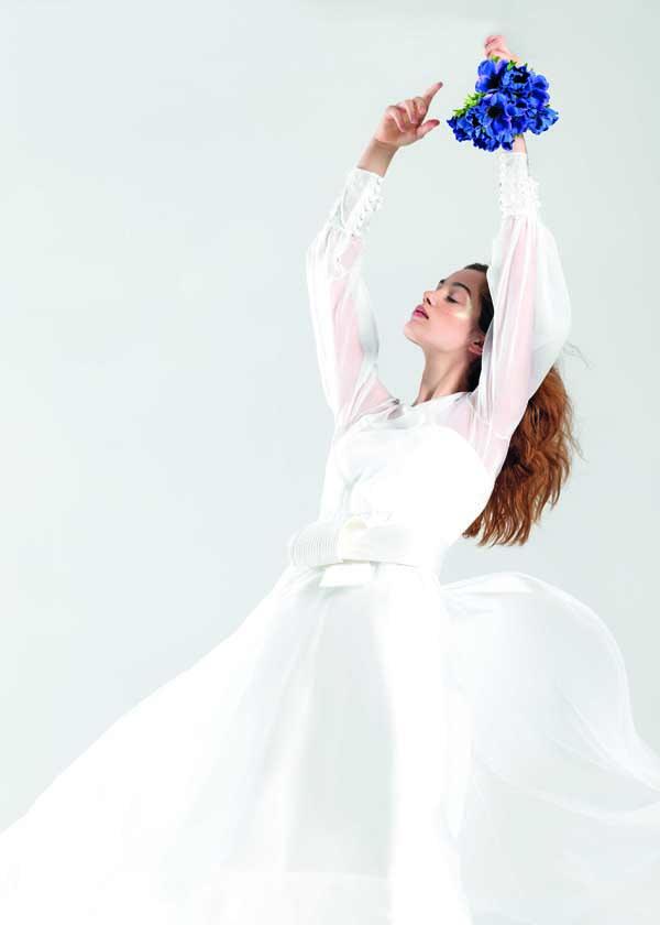 servizio fotografico di abiti da sposa