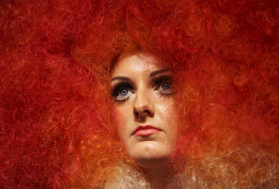 Alternative Hair Show modella